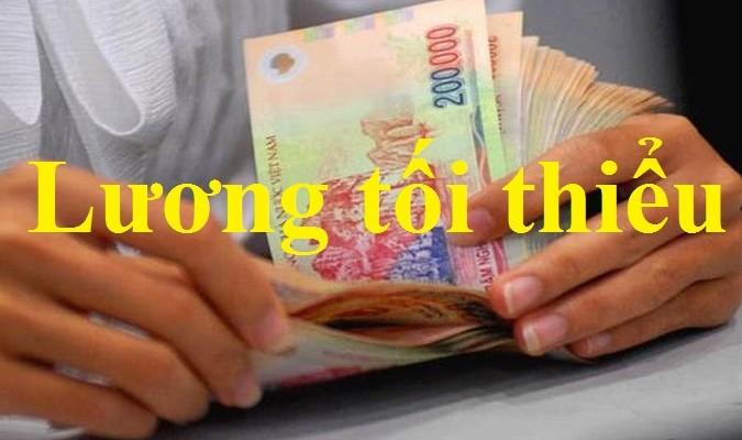 Quy định mới về mức lương tối thiểu chung